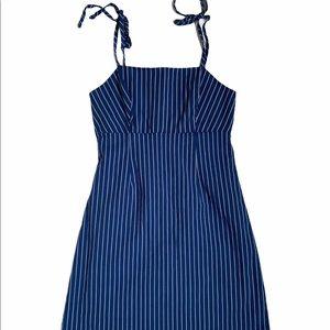 Pacsun Blue Striped Dress